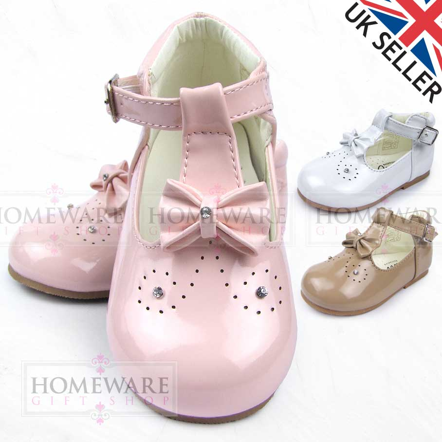 BABY GIRLS SPANISH STYLE SHOES T-BAR